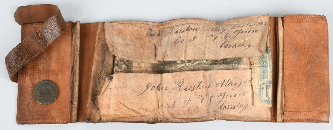 CIVIL WAR IDED 1ST EAST TENNESSEE CAVALRY WALLET