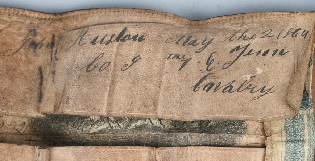 CIVIL WAR IDED 1ST EAST TENNESSEE CAVALRY WALLET - 2