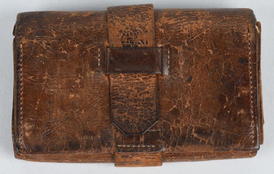 CIVIL WAR IDED 1ST EAST TENNESSEE CAVALRY WALLET - 9