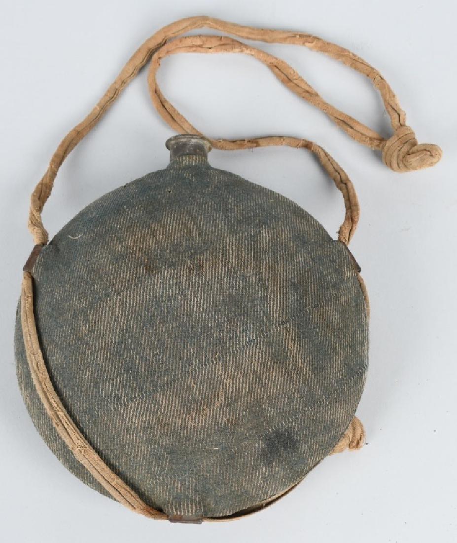CIVIL WAR M 1858 SMOOTHSIDE CANTEEN BLUE COVER