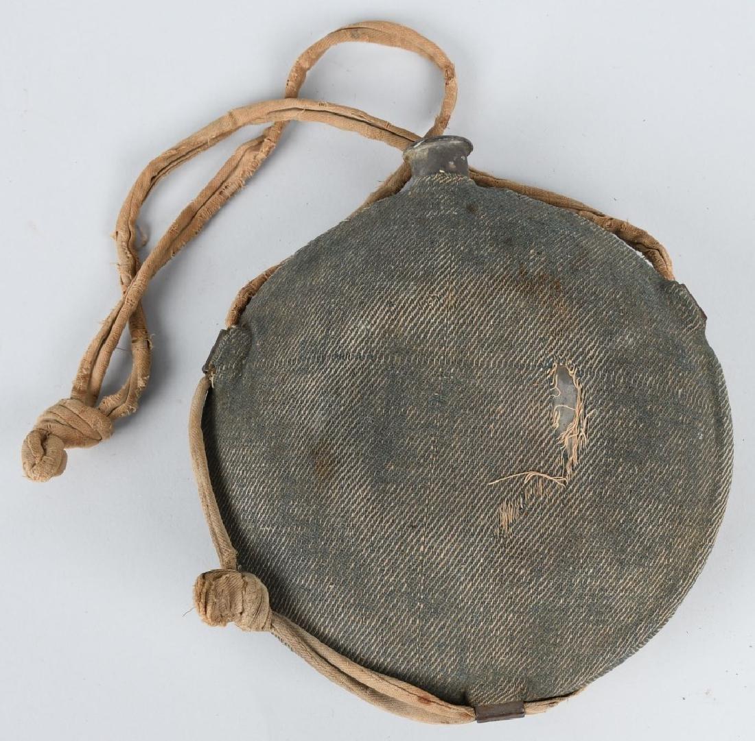 CIVIL WAR M 1858 SMOOTHSIDE CANTEEN BLUE COVER - 2