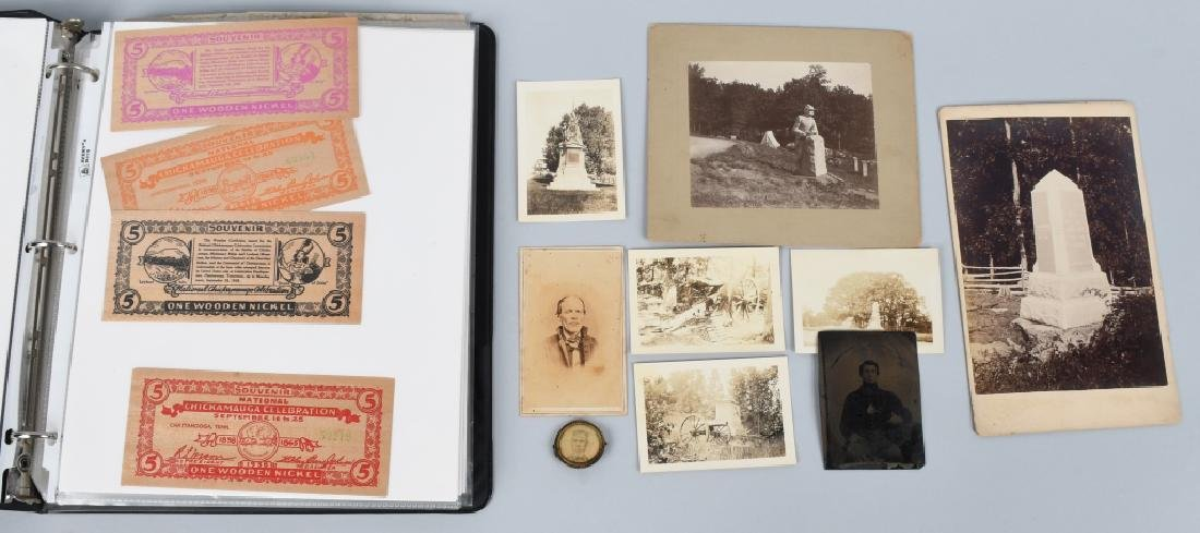 CIVIL WAR PHOTOGRAPH & EPHEMERA GROUP