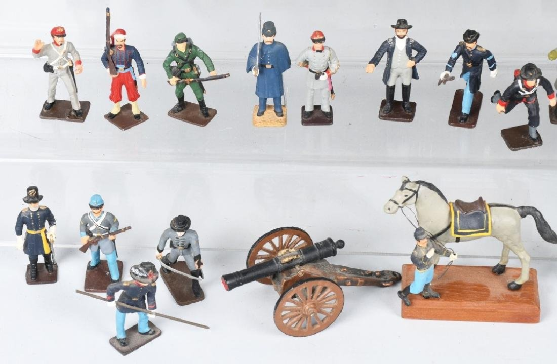 CIVIL WAR PAINTED SOLDIERS INCLUDING SETS - 2