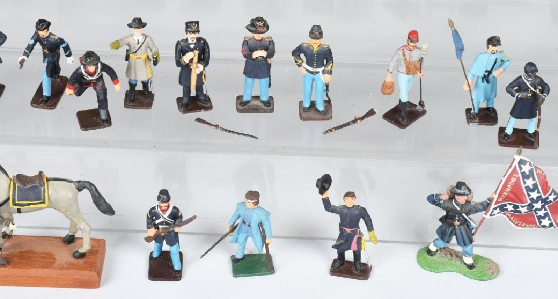 CIVIL WAR PAINTED SOLDIERS INCLUDING SETS - 3
