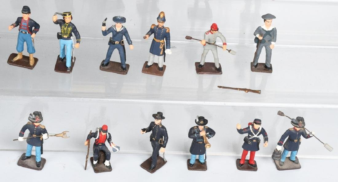 CIVIL WAR PAINTED SOLDIERS INCLUDING SETS - 5