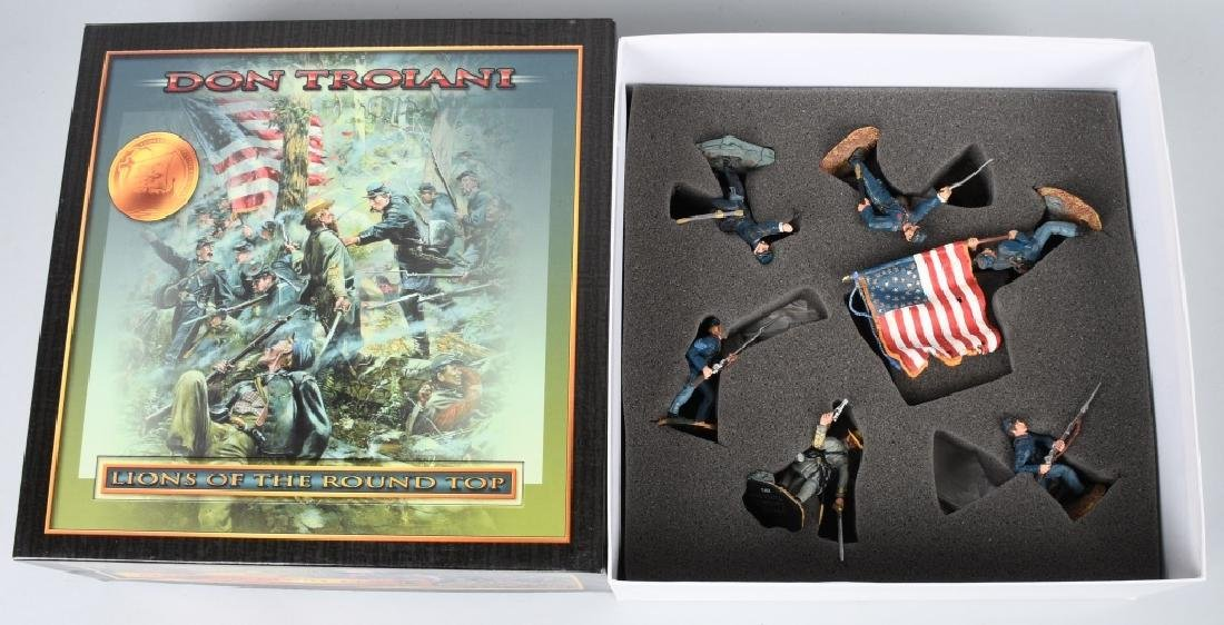 CIVIL WAR PAINTED SOLDIERS INCLUDING SETS - 6