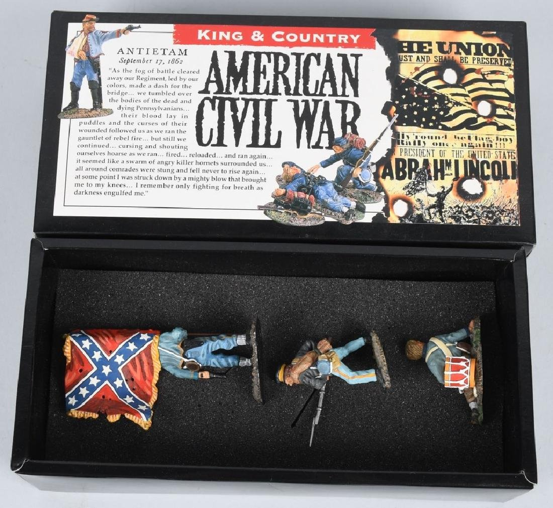 CIVIL WAR PAINTED SOLDIERS INCLUDING SETS - 8