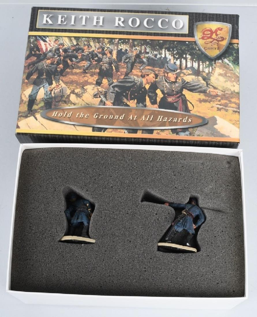 CIVIL WAR PAINTED SOLDIERS INCLUDING SETS - 9