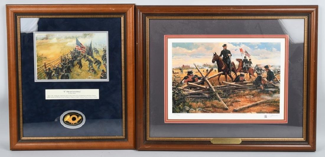 CIVIL WAR DALE GALLON PRINTS BUYING TIME &8TH OHIO