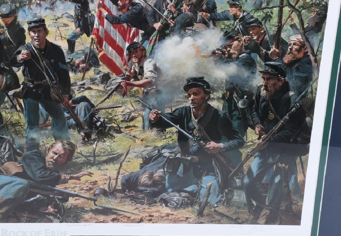 CIVIL WAR DON TROIANI PRINT ROCK OF ERIN - 4