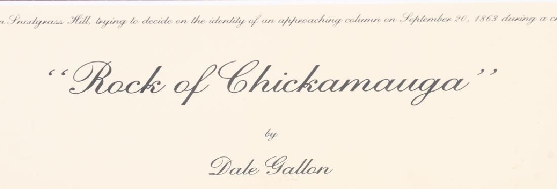 CIVIL WAR 1895 MAP CHICKAMAUGA & DALE GALLON PRINT - 4
