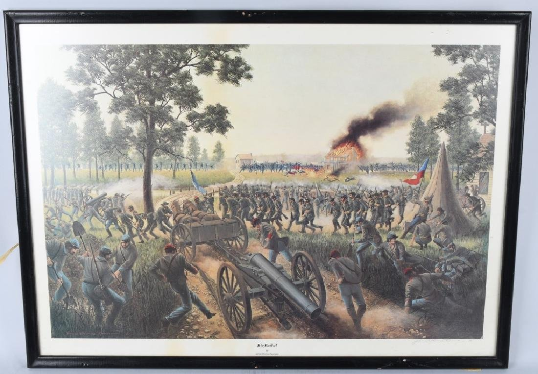 CIVIL WAR JAMES THOMAS NEUMANN PRINT LOT (4) - 2