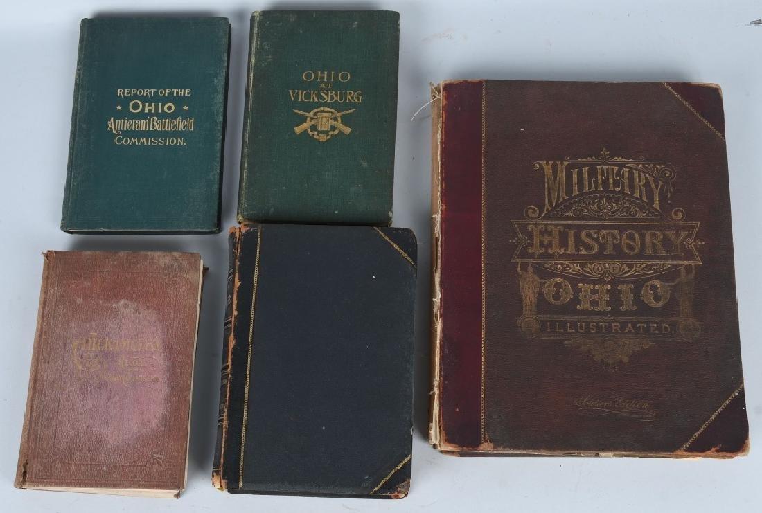 CIVIL WAR OHIO RELATED VINTAGE BOOKS