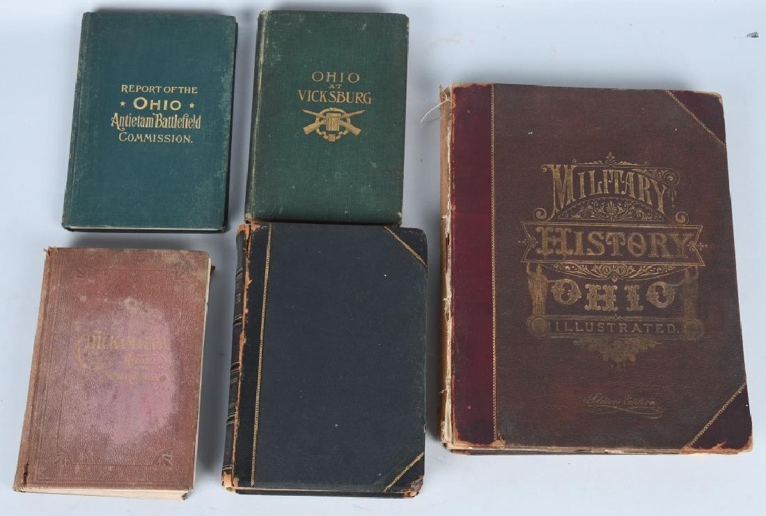 CIVIL WAR OHIO RELATED VINTAGE BOOKS - 2
