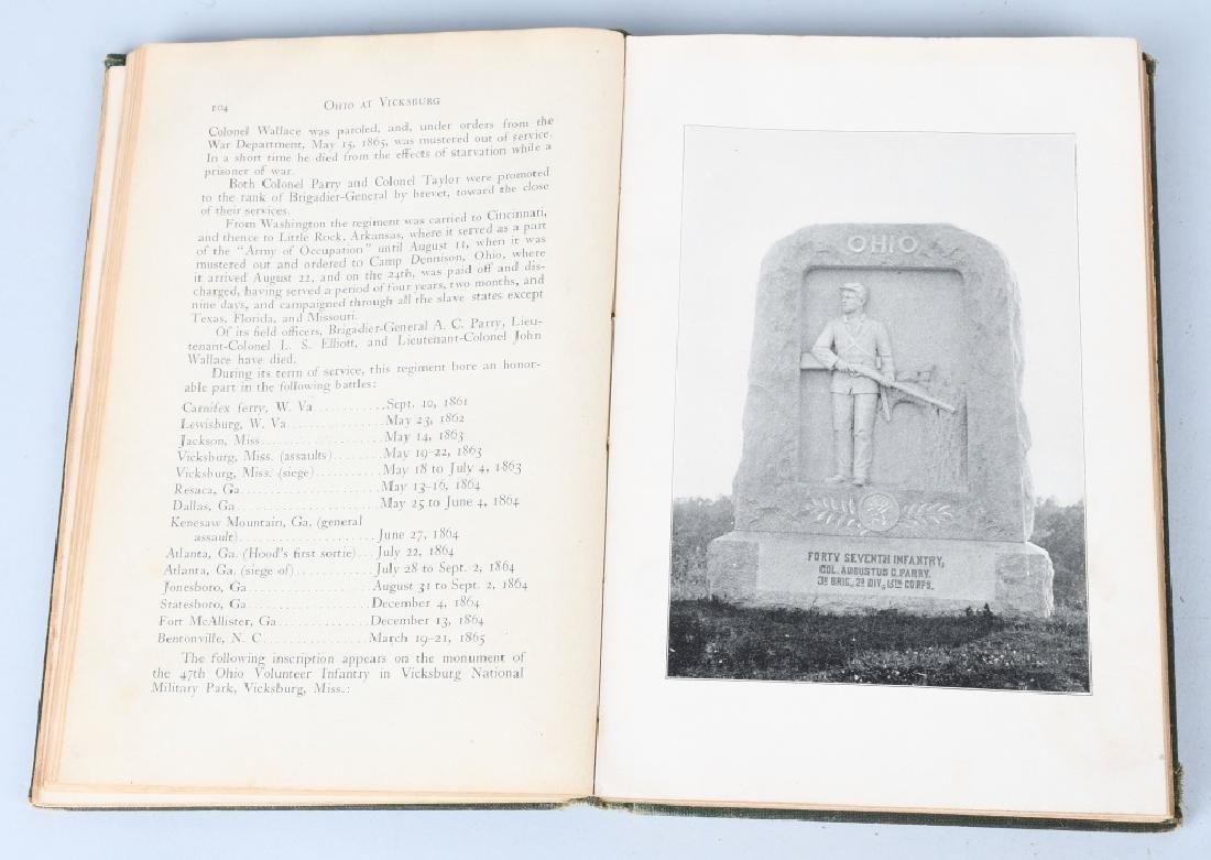 CIVIL WAR OHIO RELATED VINTAGE BOOKS - 5