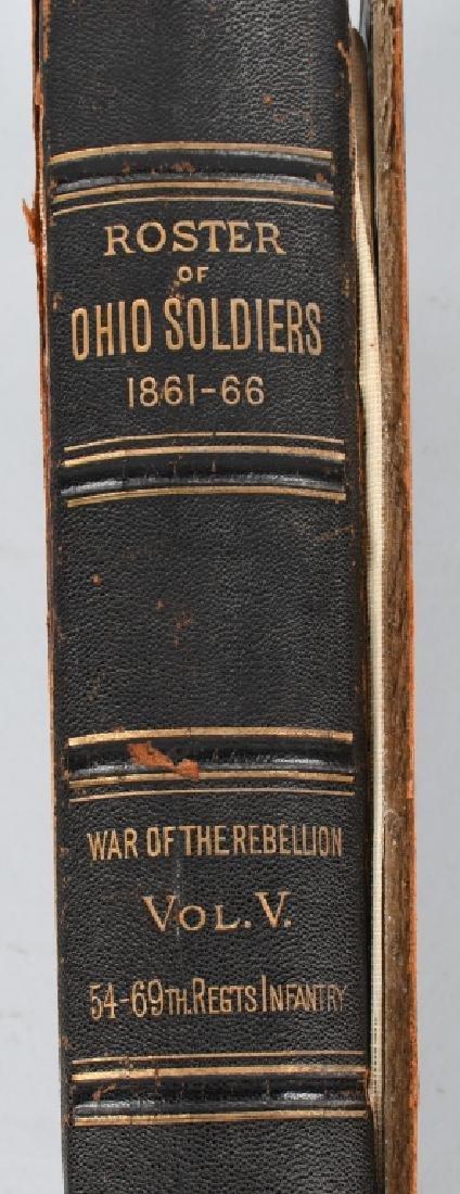 CIVIL WAR OHIO RELATED VINTAGE BOOKS - 7