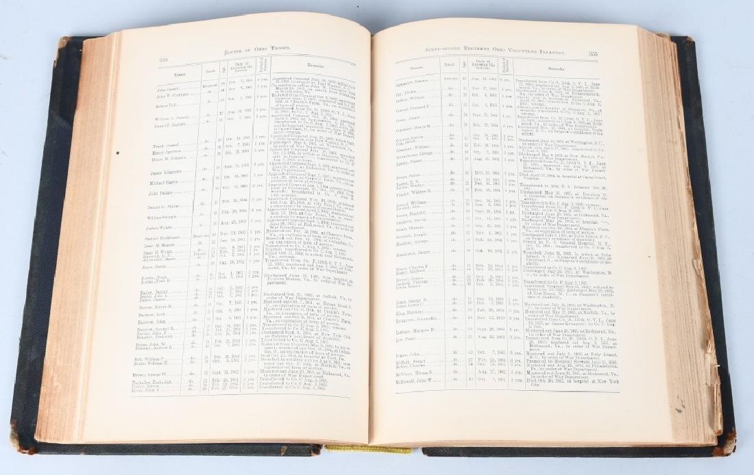 CIVIL WAR OHIO RELATED VINTAGE BOOKS - 8