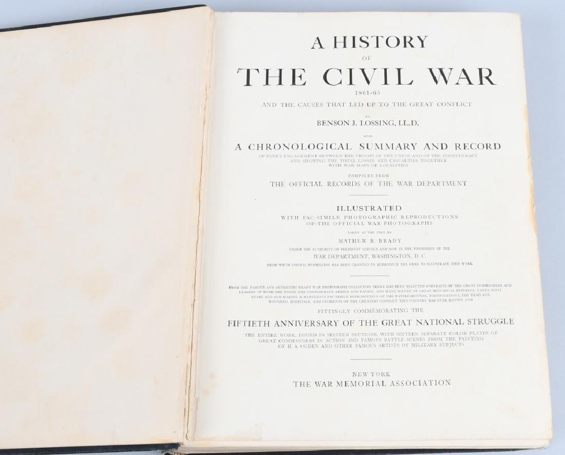 CIVIL WAR BOOK LOT INC. REGIMENTAL HISTORIES - 10
