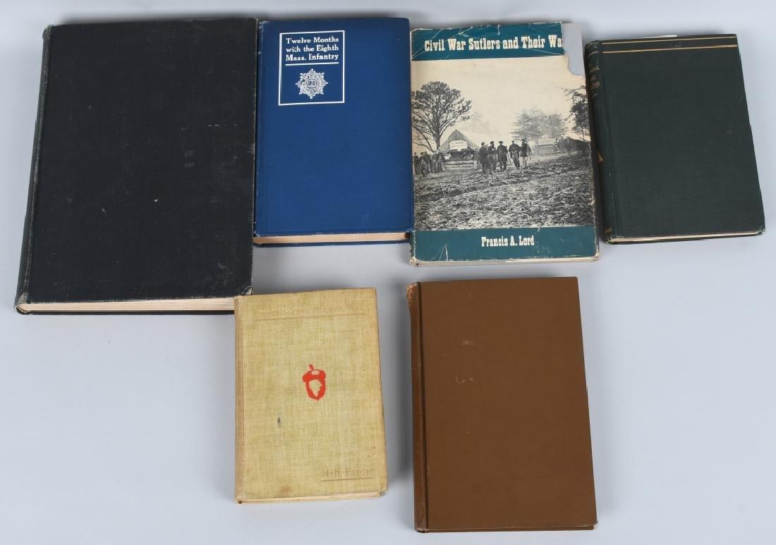 CIVIL WAR BOOK LOT INC. REGIMENTAL HISTORIES
