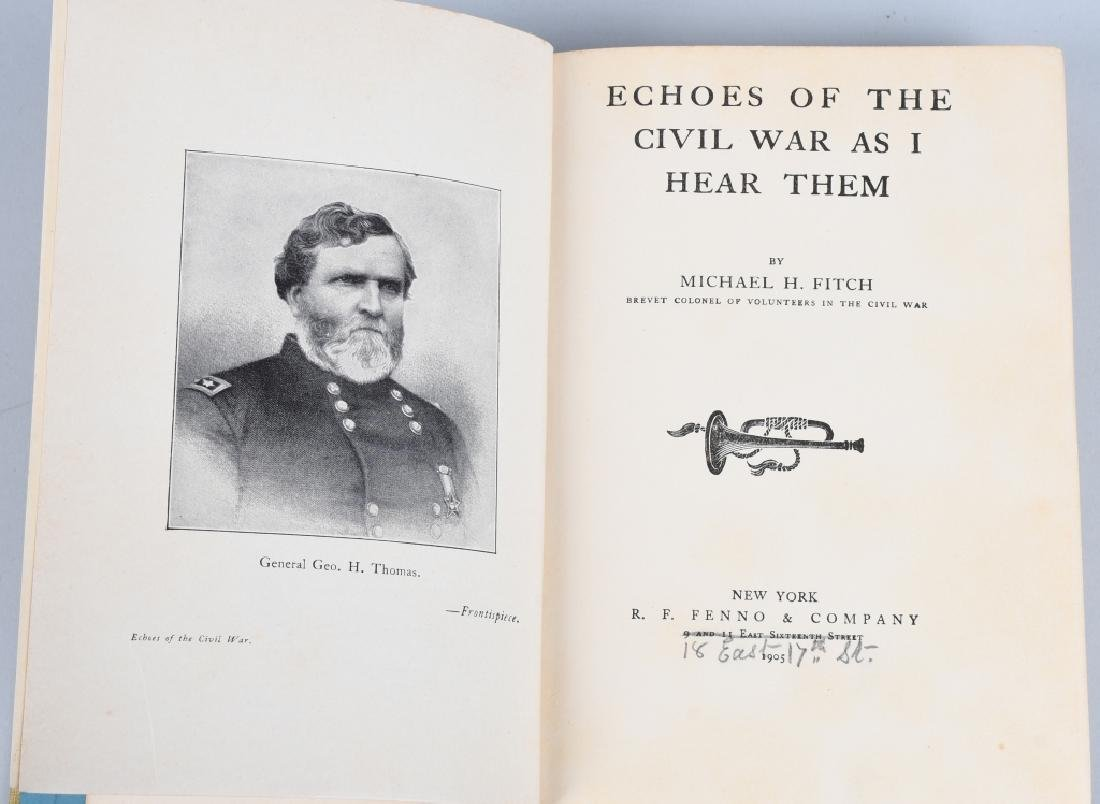 CIVIL WAR BOOK LOT INC. REGIMENTAL HISTORIES - 4