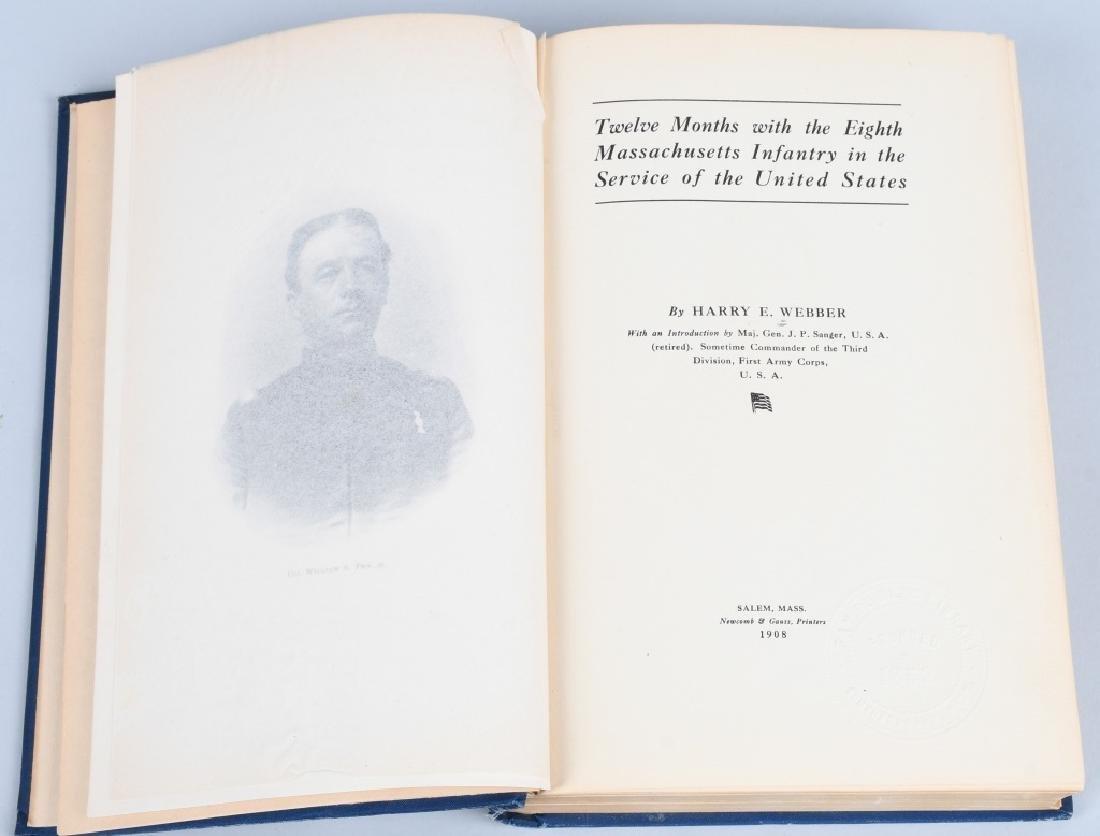 CIVIL WAR BOOK LOT INC. REGIMENTAL HISTORIES - 8