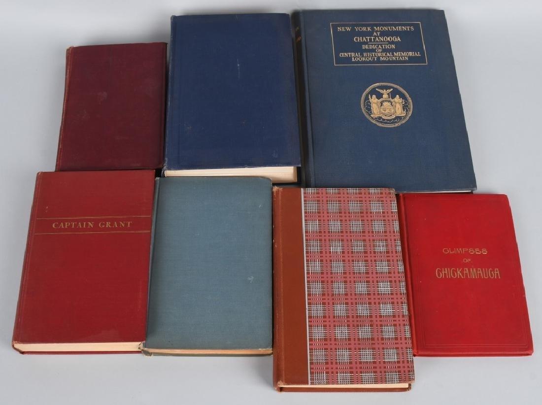CIVIL WAR - LOT OF VINTAGE BOOKS - CHICKAMAUGA