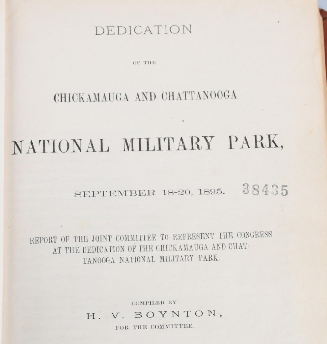 CIVIL WAR - LOT OF VINTAGE BOOKS - CHICKAMAUGA - 2