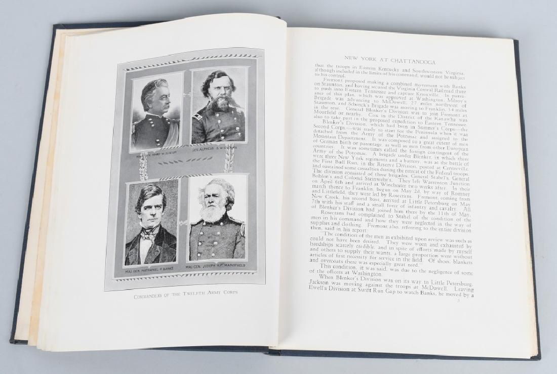 CIVIL WAR - LOT OF VINTAGE BOOKS - CHICKAMAUGA - 9