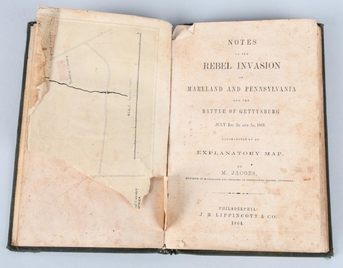 CIVIL WAR VINT BOOKS GETTYSBURG INVASION PUBL 1864 - 4