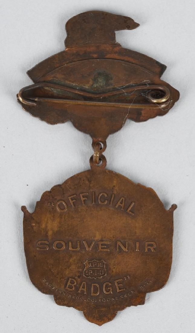 CIVIL WAR GAR NATIONAL ENCAMPMENT BADGES 1901 & 12 - 3