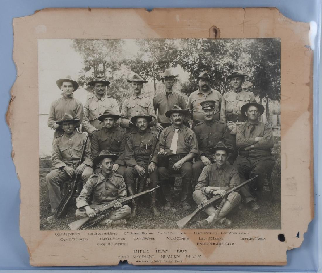 1908 IMPERIAL ALBUMEN 6TH MASSACHUSETTS INF