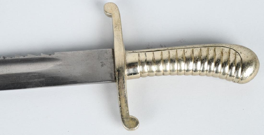 19th-20th CENT. GERMAN SAW BACK SHORT SWORD, WKC - 2