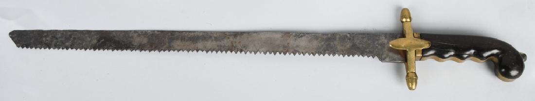 OTTOMAN EMPIRE SAW BLADE SHORT SWORD