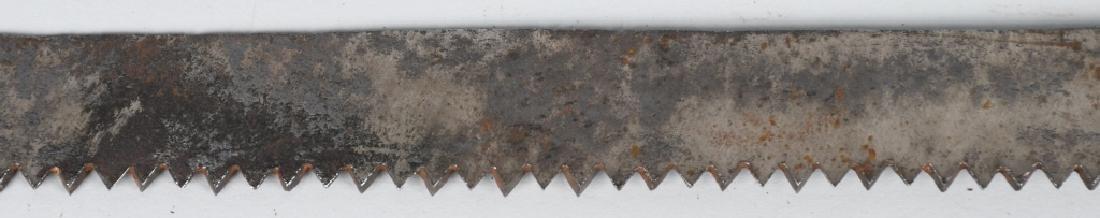 OTTOMAN EMPIRE SAW BLADE SHORT SWORD - 4