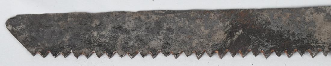 OTTOMAN EMPIRE SAW BLADE SHORT SWORD - 5