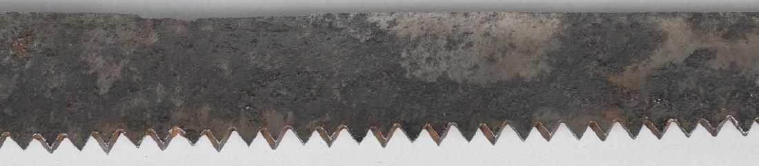 OTTOMAN EMPIRE SAW BLADE SHORT SWORD - 7