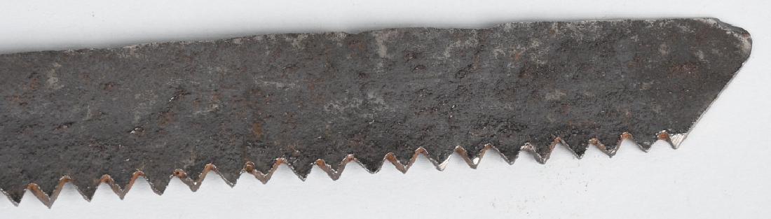 OTTOMAN EMPIRE SAW BLADE SHORT SWORD - 9