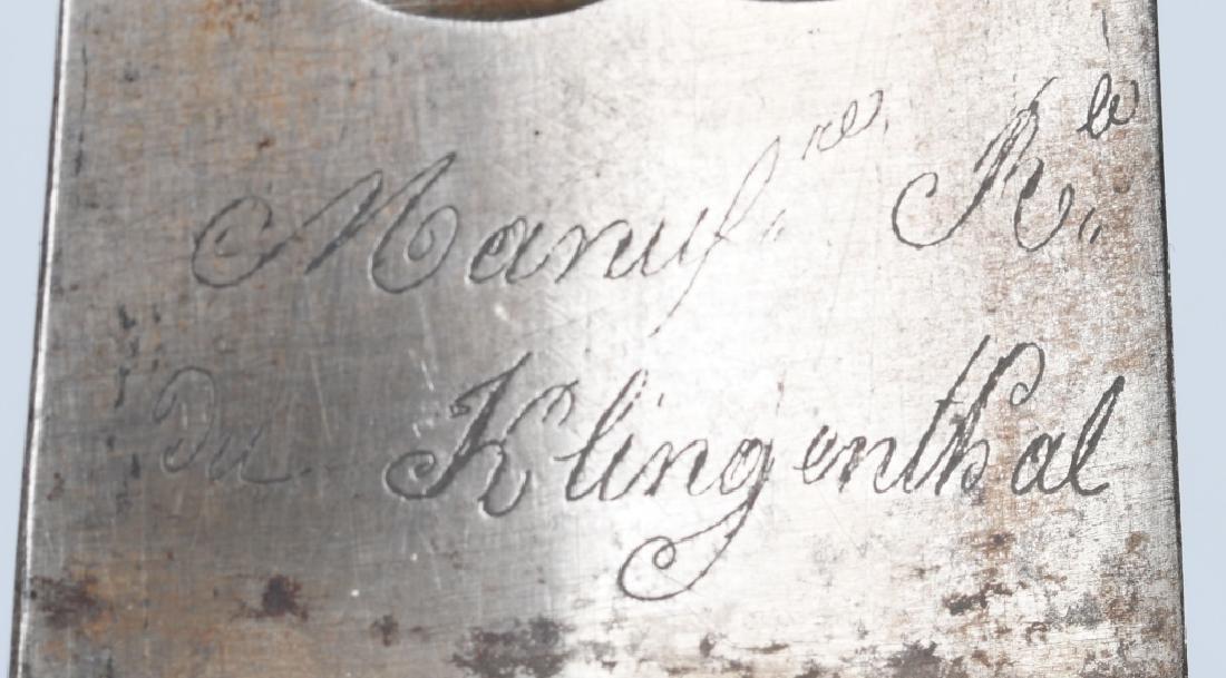 MODEL 1816 FRENCH ARTILLERY SHORT SWORD, 1818 - 10