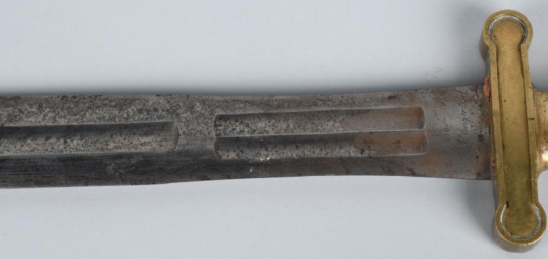 MODEL 1816 FRENCH ARTILLERY SHORT SWORD, 1818 - 3