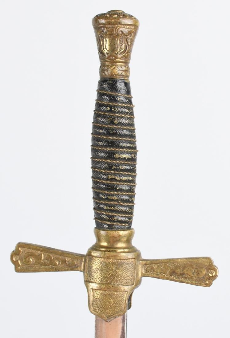 U.S. 19TH CENTURY MILITIA SWORD. - 3
