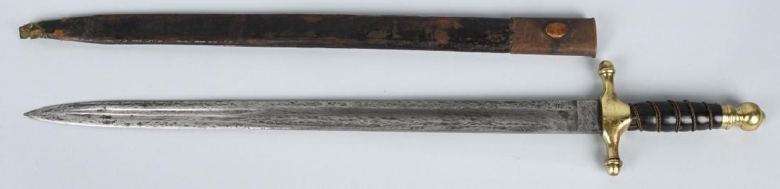 19th CENT. EUROPEAN HUNTING SHORT SWORD