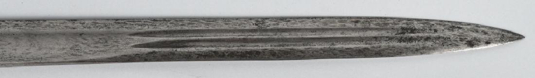 19th CENT. EUROPEAN HUNTING SHORT SWORD - 7