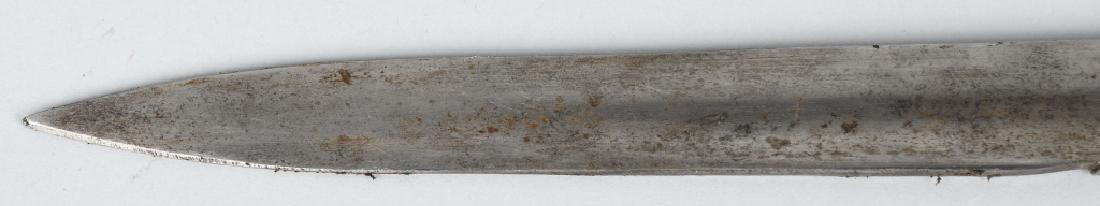 19th CENT. GERMAN SAW BACK HUNTING SHORT SWORD - 6
