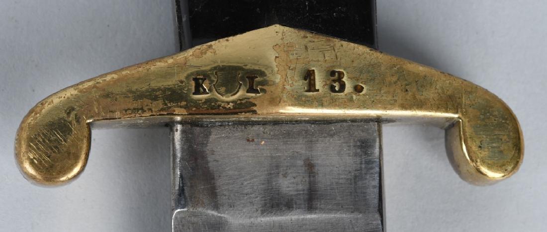 MODEL 1842-52 SWISS RIFLEMAN'S SHORT SWORD - 6