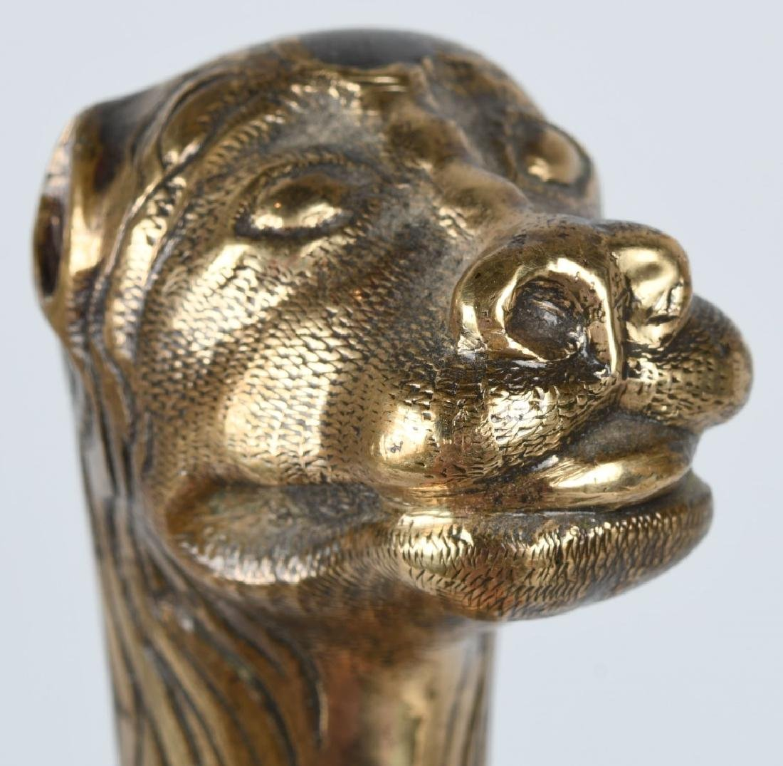 18th-19th CENT. FRENCH LION POMMEL SHORT SWORD - 4