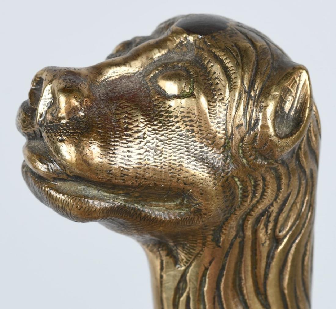 18th-19th CENT. FRENCH LION POMMEL SHORT SWORD - 5