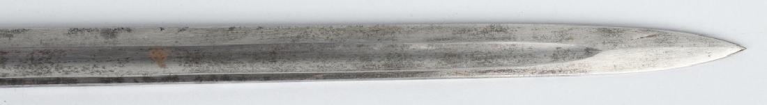 19th CENT. GERMAN LION HEAD ARTILLERY SHORT SWORD - 7