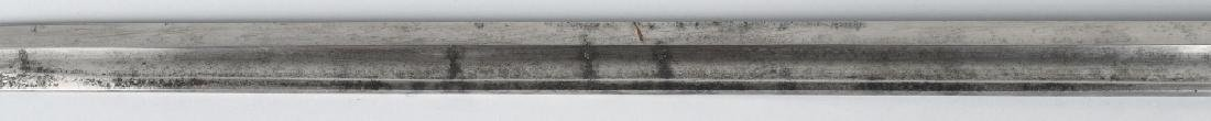 19th CENT. GERMAN LION HEAD ARTILLERY SHORT SWORD - 9