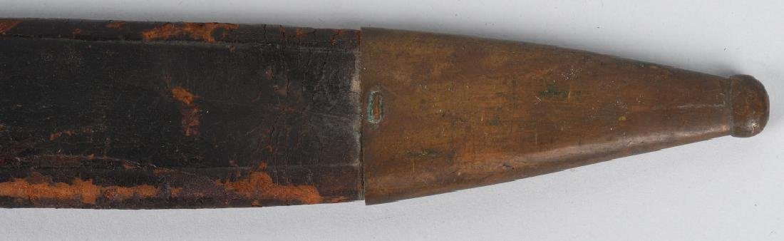 19th CENT. GERMAN SAW BACK SHORT SWORD, 1869 - 20