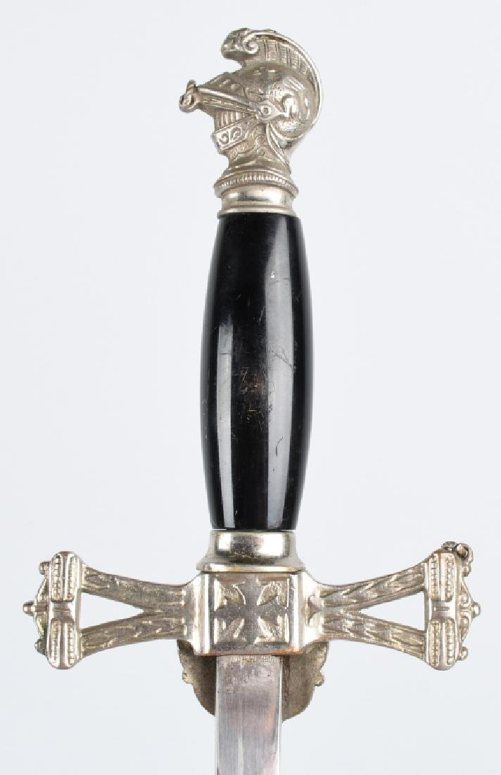 KNIGHTS OF PYTHIAS SWORD IDED & AN UNIDED SWORD - 6